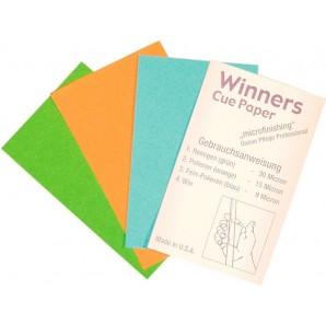 LIJA WINNERS CUE PAPER