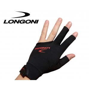 GUANTE DE BILLAR LONGONI BLACK FIRE 2.0